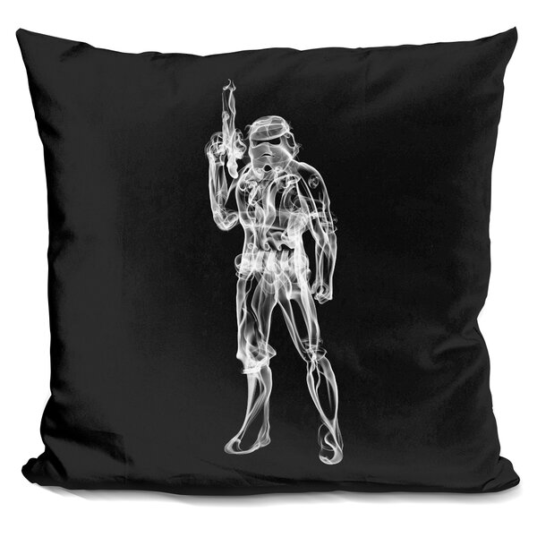 Storm Trooper Throw Pillow by East Urban Home