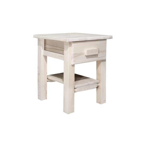 Abella 1 Drawer Nightstand by Loon Peak