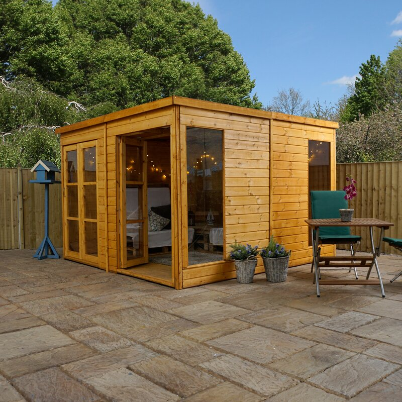 Mercia garden products 10 x 10 ft garden room summer for 10 feet by 10 feet room