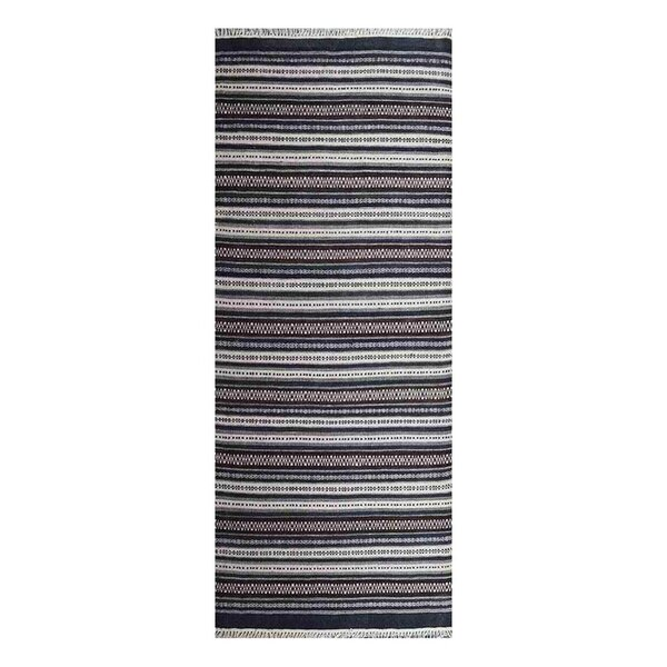 Cleland Hand-Woven Wool Gray Area Rug by Breakwater Bay