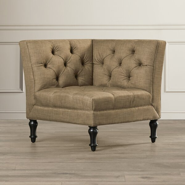 Shelbyville Corner Chair by Charlton Home