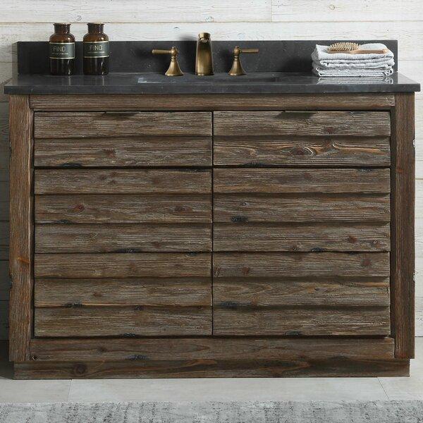 Babette Wood 48'' Single Bathroom Vanity Set by Union Rustic