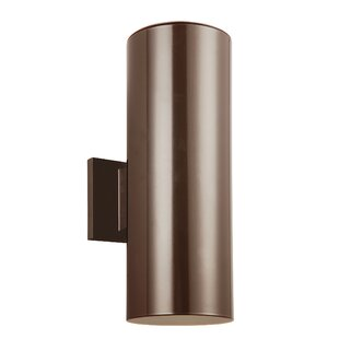 Inexpensive Leaman 2-Light Outdoor Wall Lantern By Orren Ellis