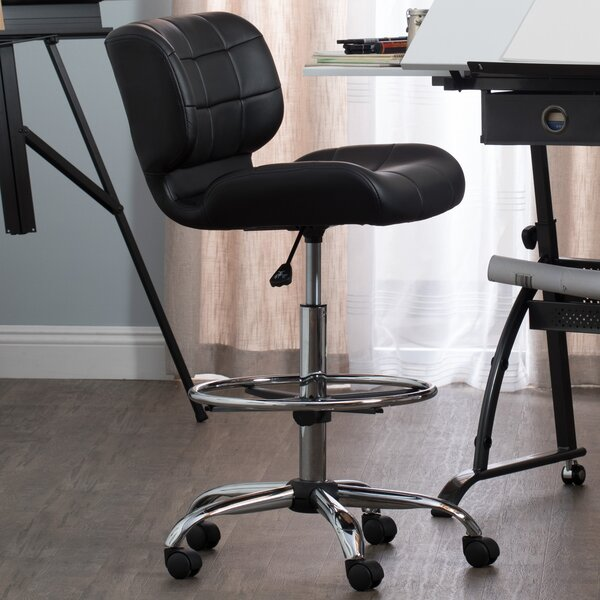 Crest Low-Back Drafting Chair by Studio Designs