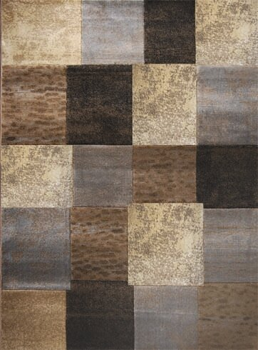 Daly City Gray/Cream Area Rug by Trent Austin Design