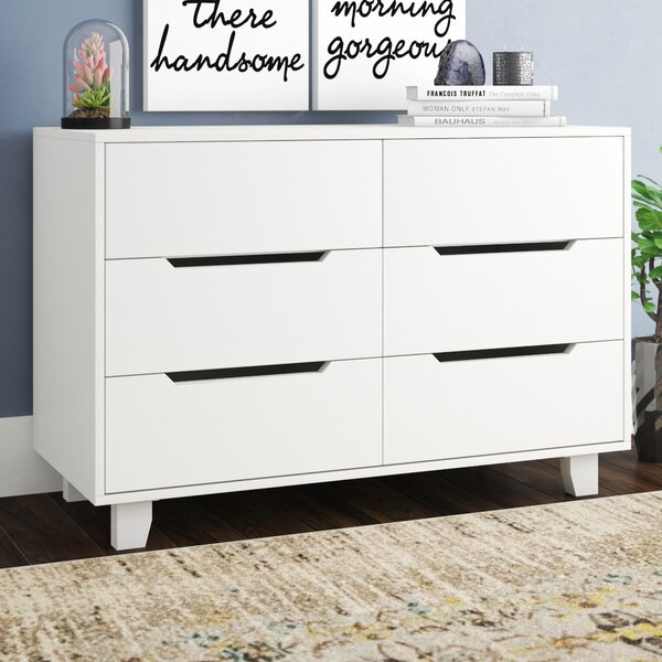Tito 6 Drawer Double Dresser by Mack & Milo