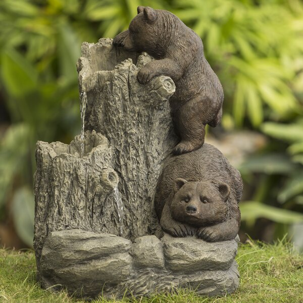 Bears Water Fountain by Jeco Inc.