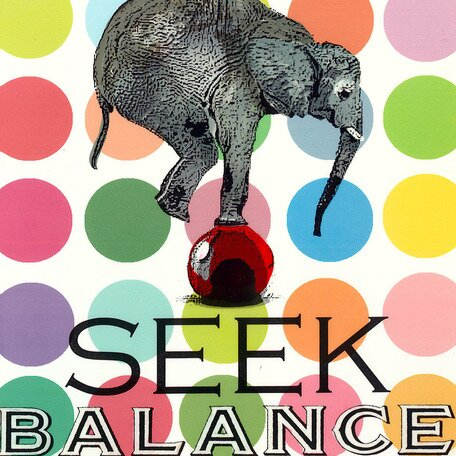 Seek Balance Canvas Art by Oopsy Daisy