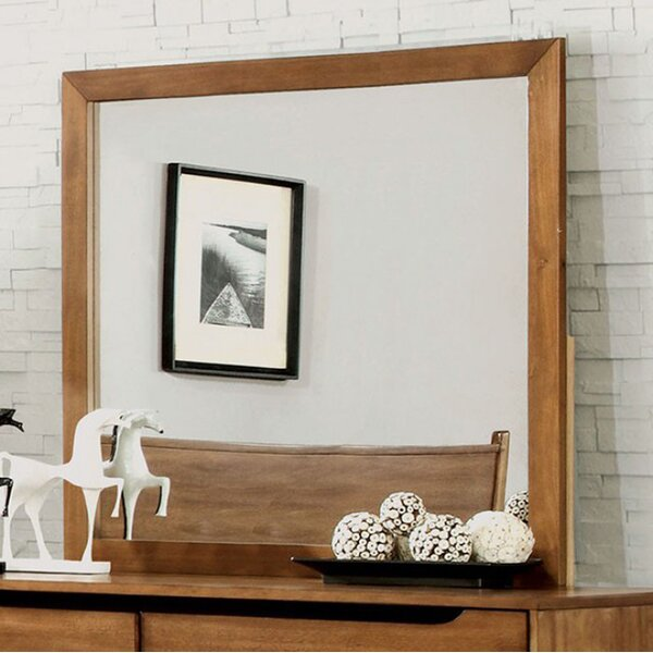 Mollie Mid Cent Modern Accent Mirror by Corrigan Studio