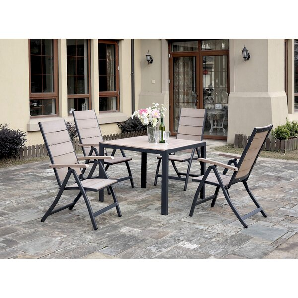 5 Piece Dining Set by JB Patio