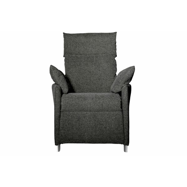 Lavoie Zero Gravity Recliner Chair Slate Fabric by Latitude Run