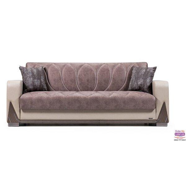 Anette Chenille Round Arms Sofa by Latitude Run Latitude Run