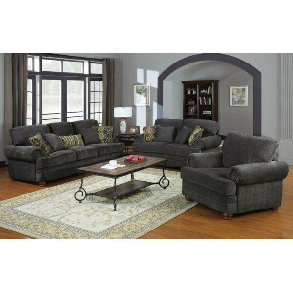 Bigelow 3 Piece Living Room Set by Fleur De Lis Living