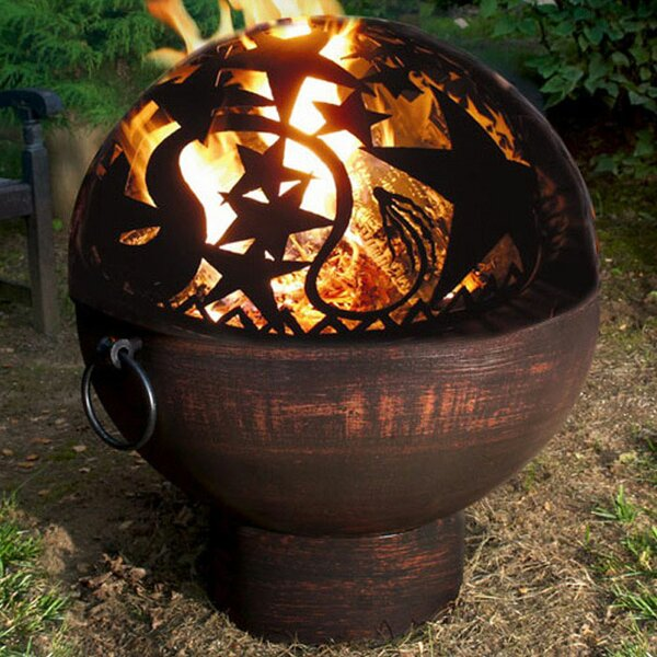 Orion Dome Steel Charcoal Fire Pit by Good Directions