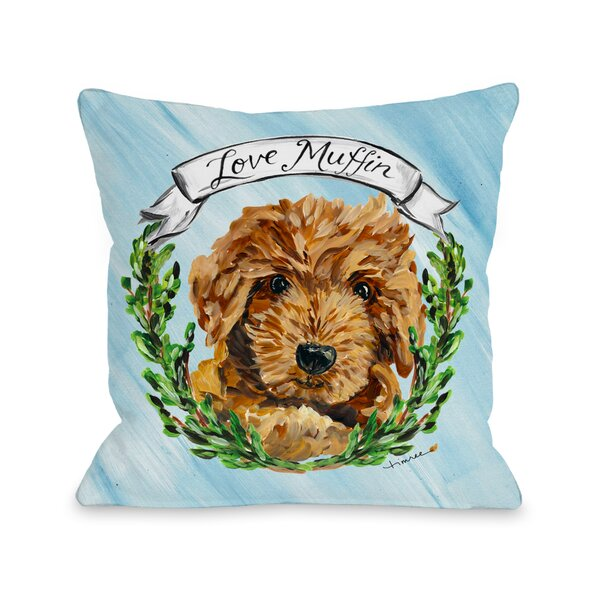 Doodle Throw Pillow by One Bella Casa