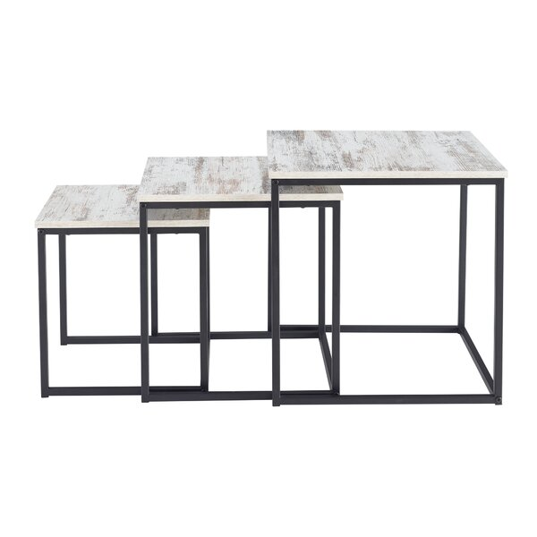 Provenzano 3 Piece Nesting Tables by Ebern Designs