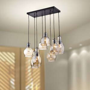 Pendant lighting you 39 ll love wayfair for Dining room light fixtures canada