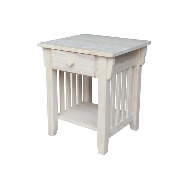 Dossett End Table by Charlton Home