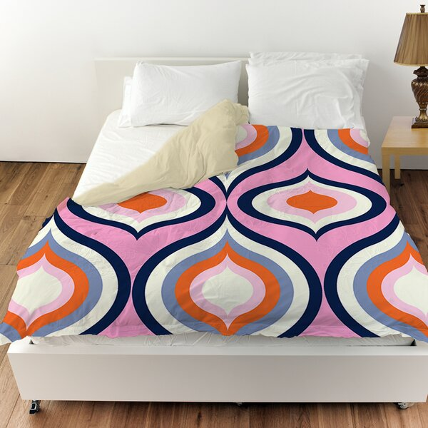 Britney Geo Duvet Cover by Manual Woodworkers & Weavers