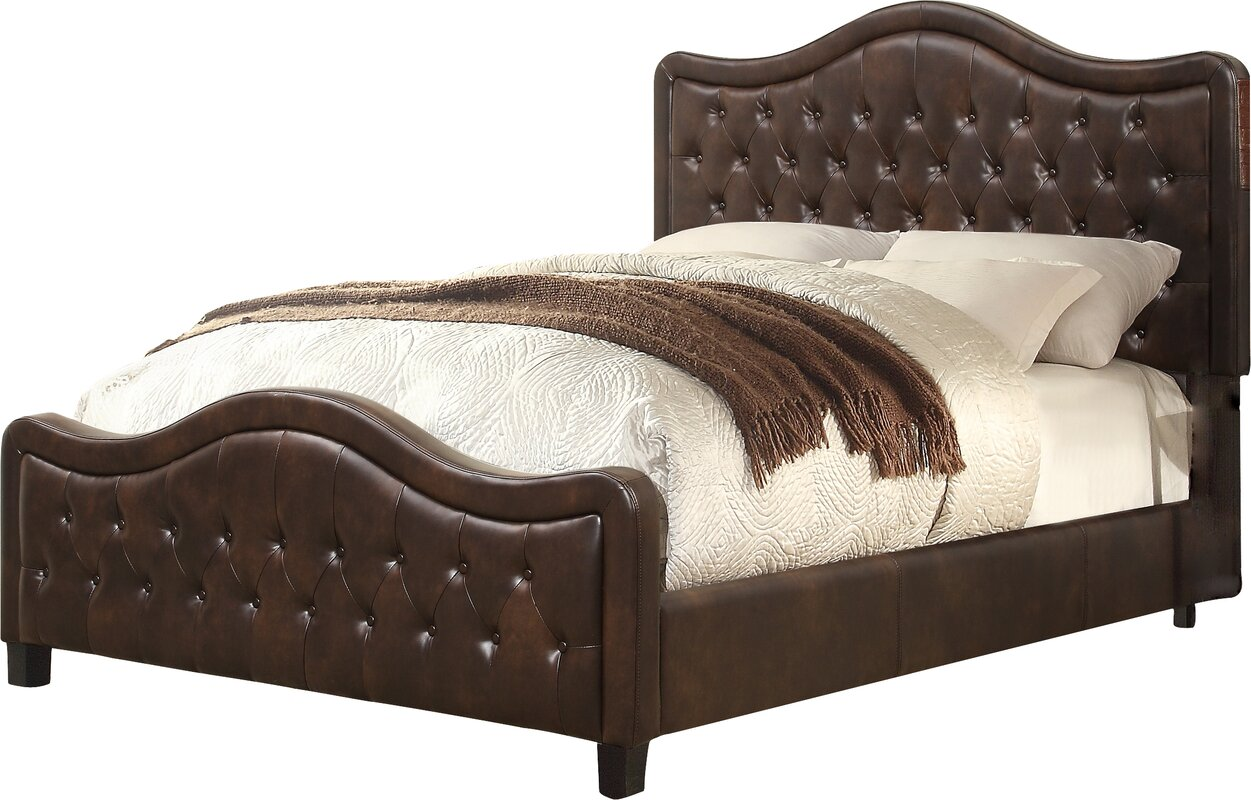 Wayfair Upholstered Bed Home Wayfair Upholstered Bed King: Darby Home Co Turin Upholstered Panel Bed & Reviews