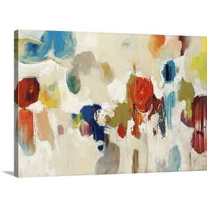 'Gum Drop' Painting Print on Wrapped Canvas by Great Big Canvas