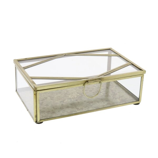 Tillia Rectangle Decorative Box by House of Hampton