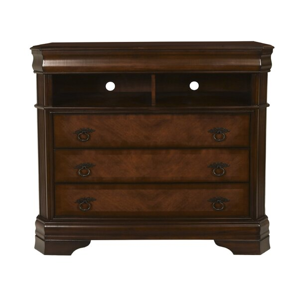 Bracamonte 3 Drawer Chest by Charlton Home