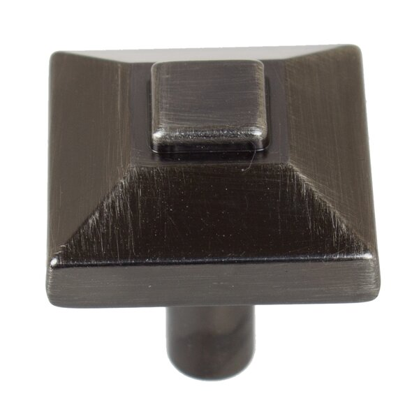 Pyramid Square Knob (Set of 10) by GlideRite Hardware