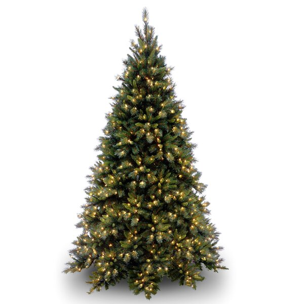 Green Fir Artificial Christmas Tree with Clear Lights with Stand by Willa Arlo Interiors