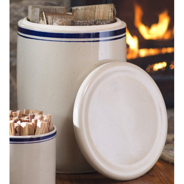 Hearthside Ceramic Crock with Lid by Plow & Hearth