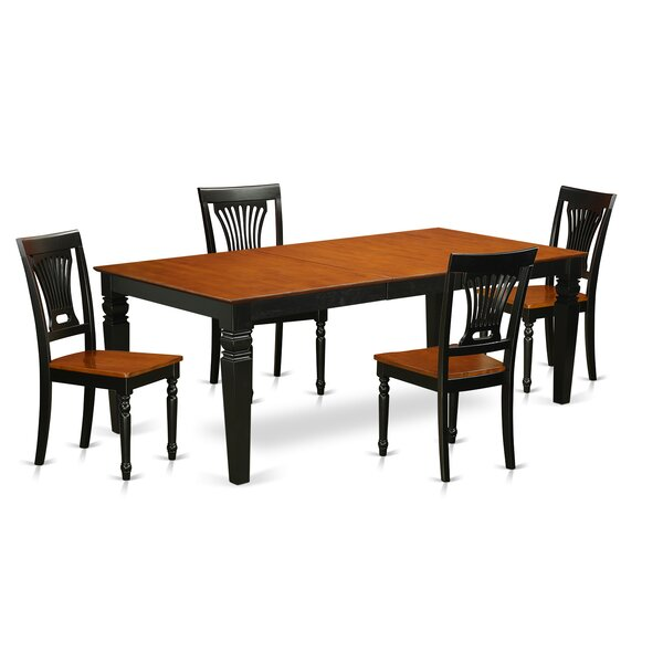 Beesley 5 Piece Extendable Solid Wood Dining Set By Darby Home Co Wonderful