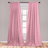 Hot Pink Curtains   Wayfair