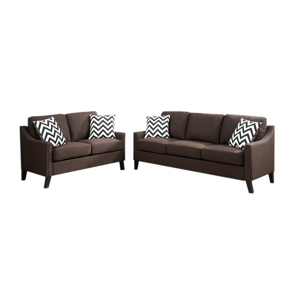 Laffey 2 Piece Living Room Set by Alcott Hill