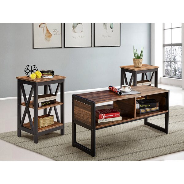Dunkle 3 Pieces Coffee Table Set by Gracie Oaks Gracie Oaks
