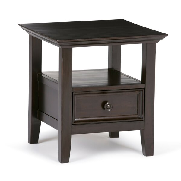 Mccoppin End Table With Storage By Alcott Hill