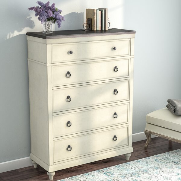 Bruyere 5 Drawer Chest by Lark Manor