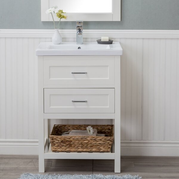 Durrant 24 Single Bathroom Vanity Set by Rosecliff