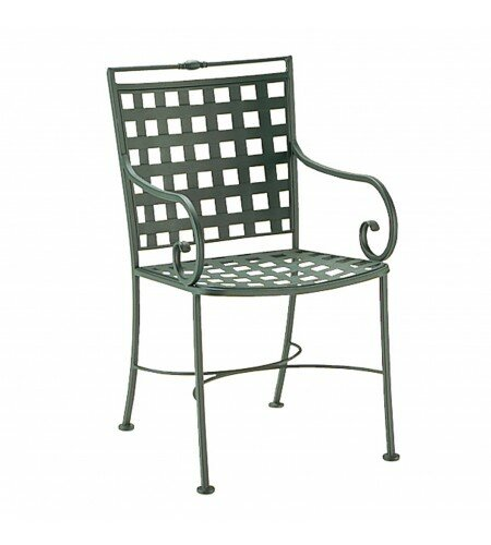 Sheffield Patio Dining Chair by Woodard
