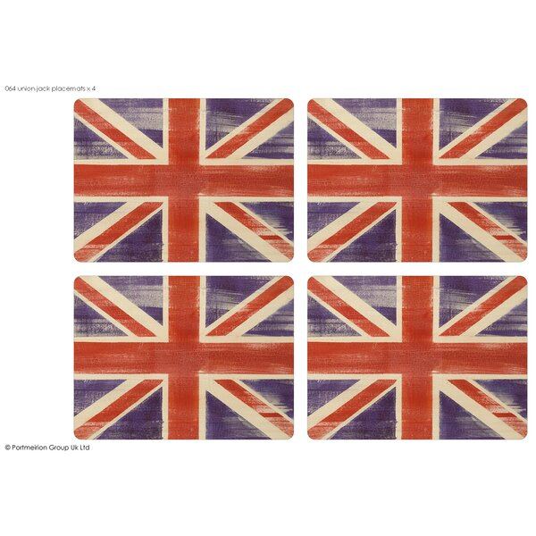 Union Jack Placemat (Set of 4) by Pimpernel