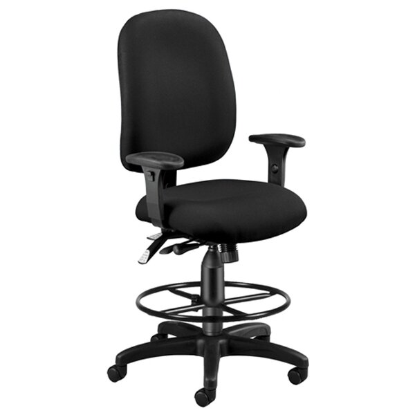 High-Back Drafting Chair by OFM