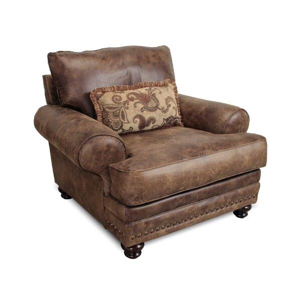 Claremore Club Chair by Loon Peak Loon Peak