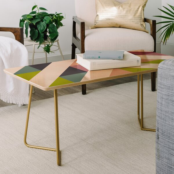 Patchwork Spring Coffee Table By East Urban Home