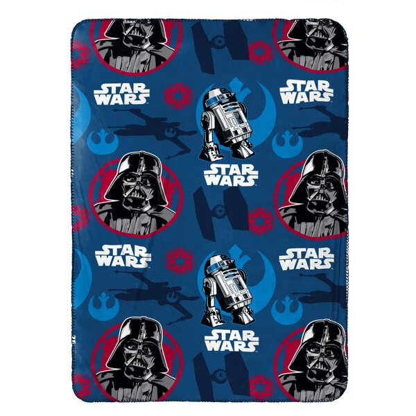 Classic Plush Travel Blanket by Star Wars