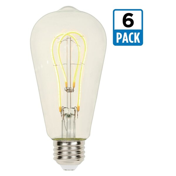 5W E26 Dimmable LED Edison Light Bulb by Westinghouse Lighting