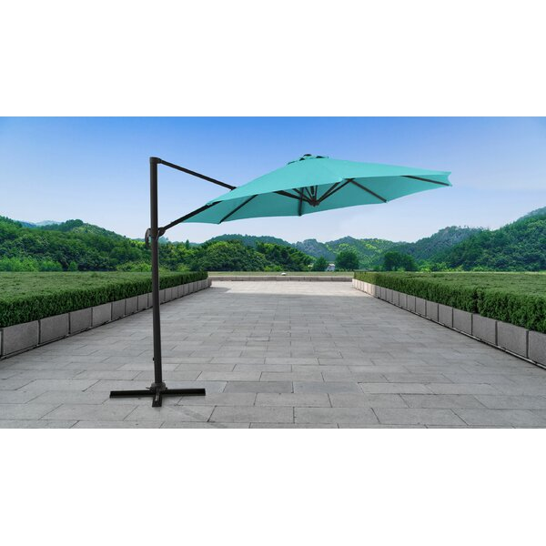 Outdoor 11' Cantilever Umbrella by kathy ireland Homes & Gardens by TK Classics
