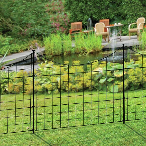 2 Ft H X 2 5 Ft W Zippity Garden Fence Panel Set Of 5 By Wam Bam Fence Co.