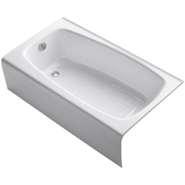 Seaforth Alcove 54 x 31 Soaking Bathtub by Kohler