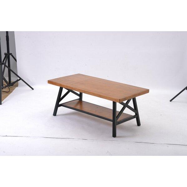 Eby Solid Wood 4 Legs Nesting Table with Storage by Loon Peak Loon Peak