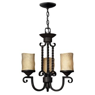 Order Jamar 3-Light Shaded Chandelier By Darby Home Co