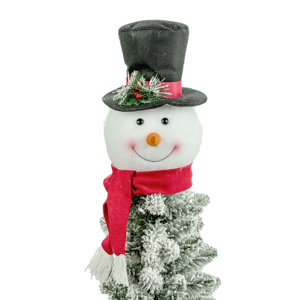 Snowman Hat Tree Topper Christmas snowman hat 5 ft led light holiday indoor outdoor yard decorations new. snowman hat tree topper